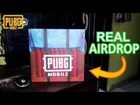 REAL AIR DROP RECEIVED FROM PUBG MOBILE