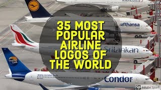 35 Most Popular Airline Logos of the World