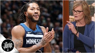 Derrick Rose is a 'more mature' player than he was in his MVP season - Jackie MacMullan | The Jump