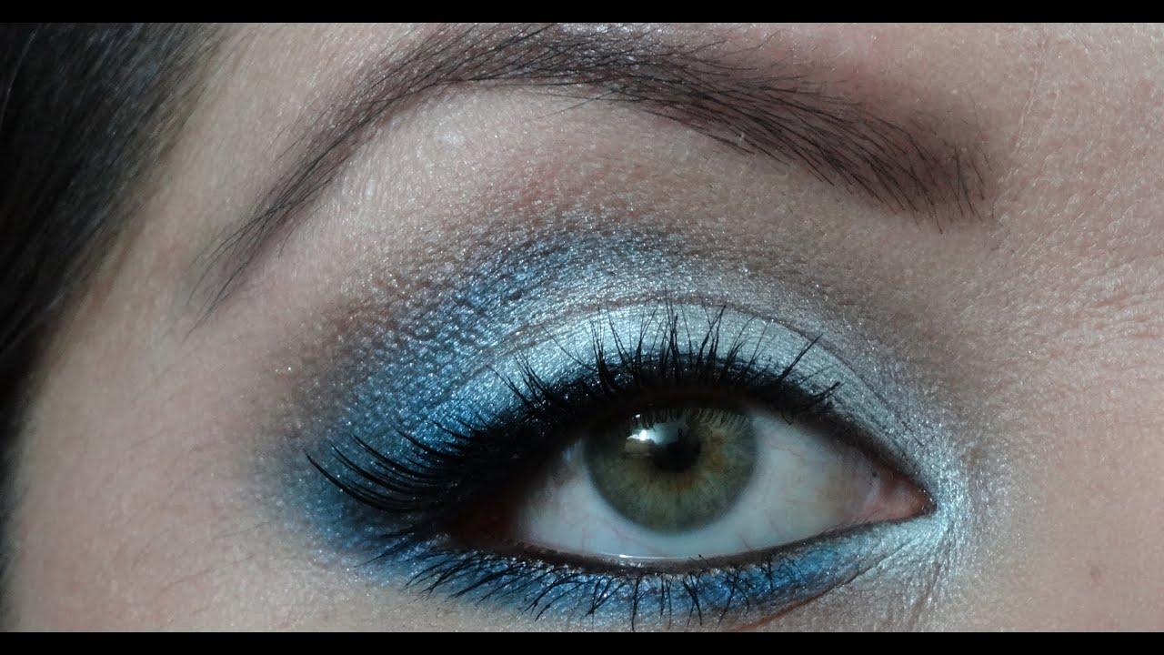 maquillaje para graduacin azul y plateado fcil peticin