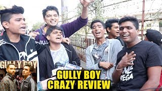 Gully Boy CRAZY Review By FANS Outside Theatre -First Day Second Show-Ranveer,Alia