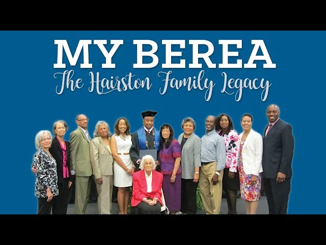The Hairston Family Legacy at Berea College
