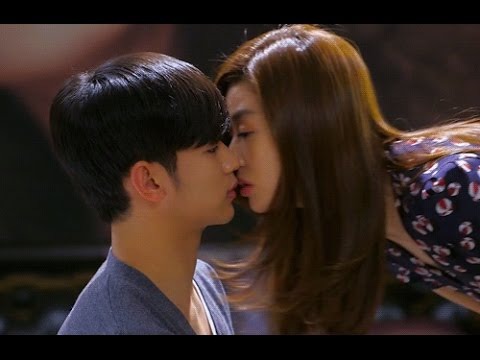 romantic kiss scenes - pinoccio - my love from the star - healer -  cute korean drama