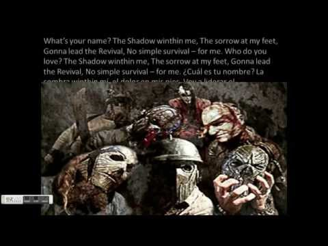 Mushroomhead - Simple Survival - Lyrics on Screen