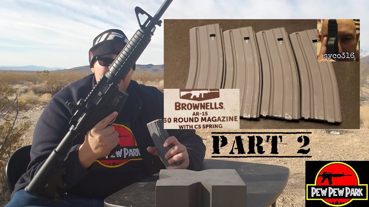 Brownell's GI mags part 2: Electric Shootaloo