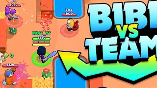 MAX BIBI vs TEAMERS in BRAWL STARS