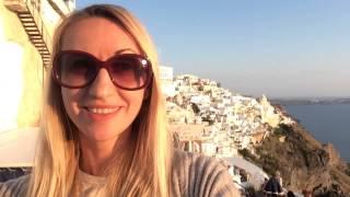 Греция Отдых Santorini Island | Остров Санторини Vlog  день 1(Первый день на острове Санторини. Поездка на корабле от Пиреаса, прогулка по Фире | Fira, закат на Санторини,..., 2015-06-03T11:45:45.000Z)