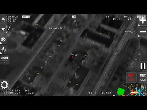 AIR-1 Leads Police to Bad Guy