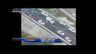 8-7-2013 Miami Police Chase (WSVN)
