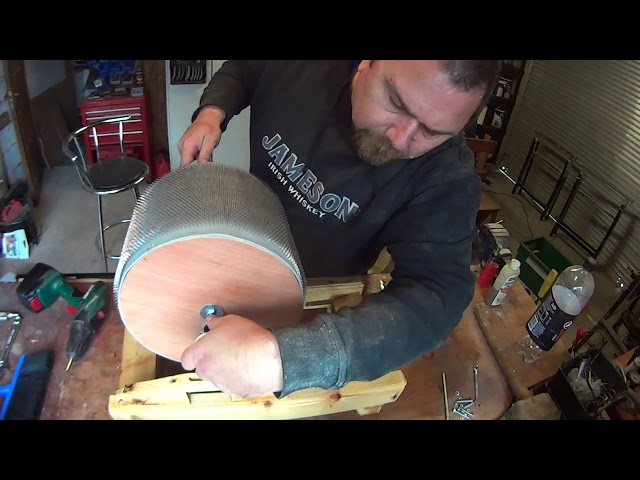 Building a drum carder