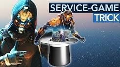Der Trick mit den Service Games funktioniert zu oft