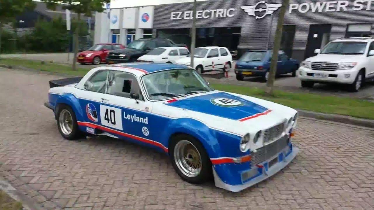 Jaguar Xjc Racing Car At The Ez Power Steering Workshop Youtube