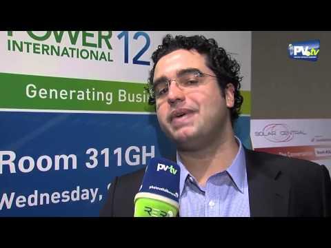 PV.TV Solar Photovoltaics  – Interview Colaferro Solar Power International 2012 ENG