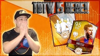 1.2 million coin totw pack opening!! 95 ovr messi!! brand new program - fifa mobile