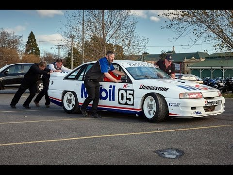 '91 Brock Mobil VN Commodore  Phil Brock laps Phillip Island   Blend Line TV