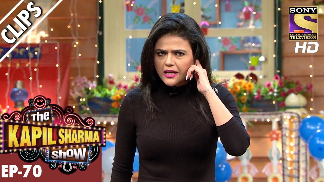 Shweta Singh Live from the Stage - The Kapil Sharma Show – 31st Dec 2016