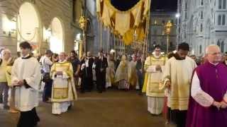 Firenze: Processione Corpus Domini 2015