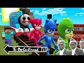 This is real THOMAS THE TANK ENGINE.EXE vs PJ MASKS in Minecraft - Coffin Meme