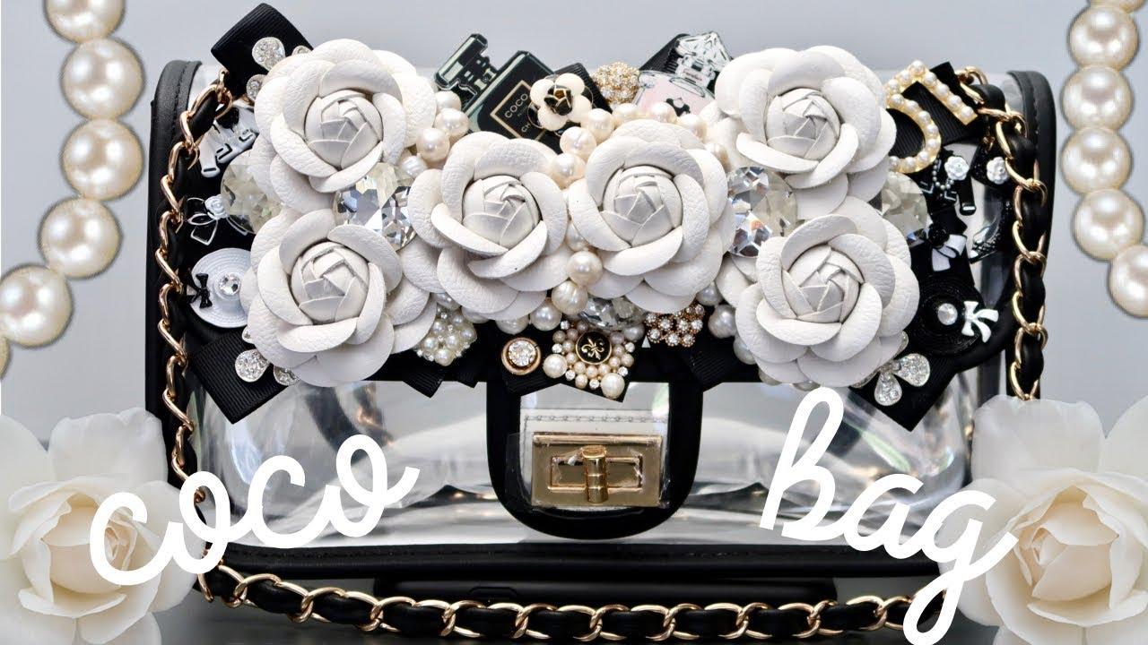 60ee0188fc5c DIY | PVC Coco Clear Bag | BellaGemaNails - YouTube