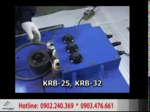 may uon sat, máy uốn sắt, máy uốn sắt hàn quốc,may uon dai, máy uốn đai krb-25