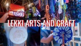 LET'S GO SHOPPING AT THE LEKKI ARTS AND CRAFTS MARKET || LAGOS VLOG