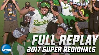 Oregon vs. Kentucky: 2017 NCAA softball super regionals   FULL REPLAY