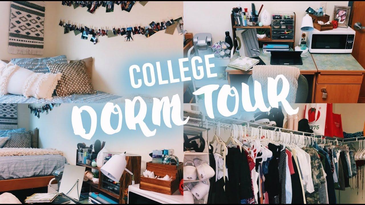 college dorm tour florida atlantic university youtube