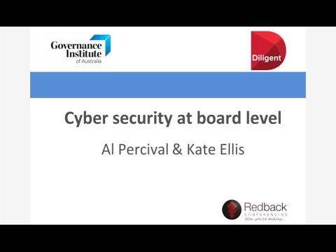 Cyber security at board level