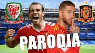 Canción España vs Gales 4-1 ( Parodia Bryant Myers - Tanta Falta )