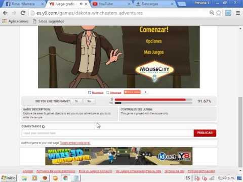 Como Descargar Juegos De Y8 Para Windows 7 Youtube