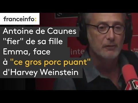 """Antoine de Caunes, sa fille Emma et """"ce gros porc puant"""" d'Harvey Weinstein thumbnail"""