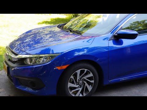2017 Honda Civic EX with Honda Sensing features