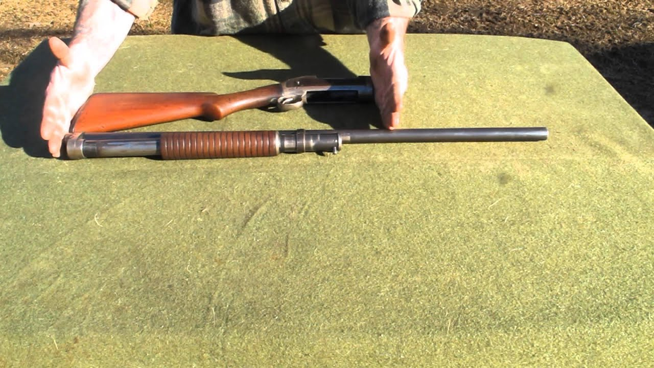 Winchester Model 1897 Historical Review and Slam Shot Demo