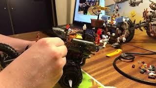 Собираем наборы Лего Фильм 2 : 70842 Трехъярусный Диван Эмметта и 70833 Байк Железной Бороды