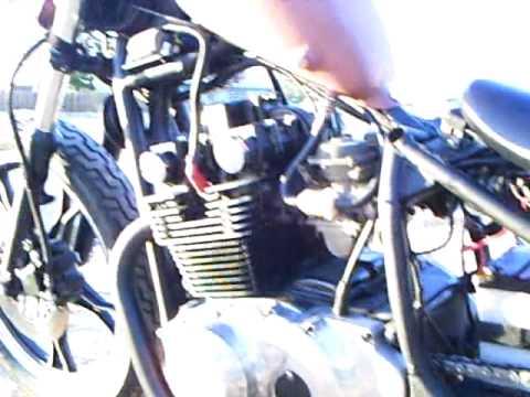 1986 suzuki gs 450 bobber youtube rh youtube com Shovelhead Chopper Wiring Diagram Xs650 Bobber Wiring