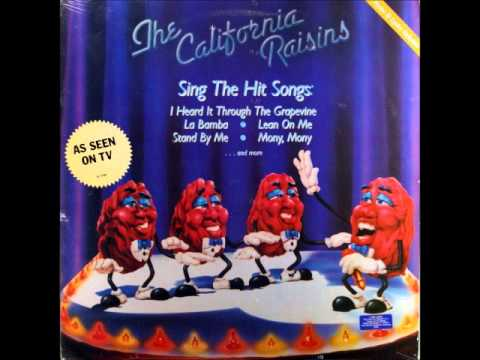 California Raisins: Sing The Hit Songs - I Heard It Through The Grapevine
