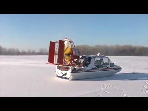 Аэросани на льду фото