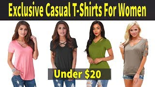 YIRANSHINI 2018 Summer Casual T Shirts For Lady - AliExpress Womens Fashion