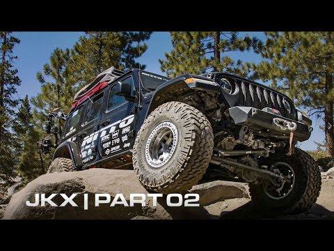 Part 2 of the Nitto Tire USA JKX Presented by KMC Wheels