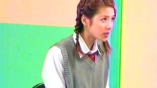 Maki Aizawa & Nori Horikoshi costumed schoolgirl & sister at Kanjir...