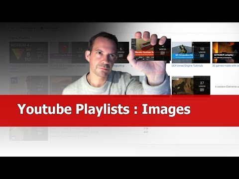 Youtube Tip: How to Change Playlist Thumbnail Image
