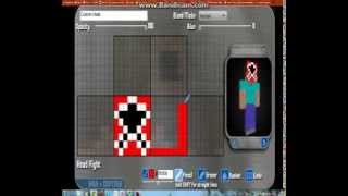 Minecraft skin Power Rangers Zeo red