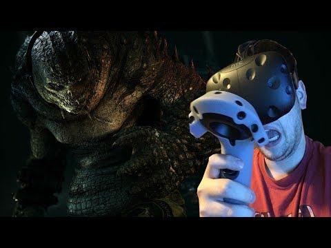 Killer Croc is Scary!! | Batman Arkham VR (Full Playthrough) with Ending!!