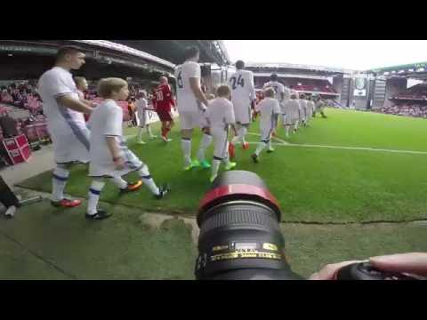 GoPro POV behind the scenes with football photographer at Da