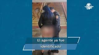 En el video se observa a un elemento de la Secretaría de Seguridad Ciudadana de la Ciudad de México cuando toca el glúteo de una mujer, ante esto la dependencia preventiva ya inició una investigación interna para deslindar responsabilidades y destituir al oficial