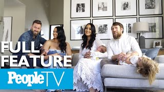 The Bella Twins Talk Giving Birth To Their Sons Within 22 Hours Of Each Other & More | PeopleTV