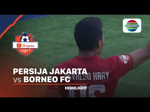 Highlights - Persija 3 vs 2 Borneo | Shopee Liga 1 2020