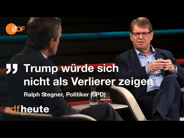 Debatte über Trumps Chancen zu Wiederwahl   Markus Lanz vom 03. November 2020