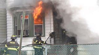 Passaic,Nj Fire Department 3rd Alarm  1/9/16