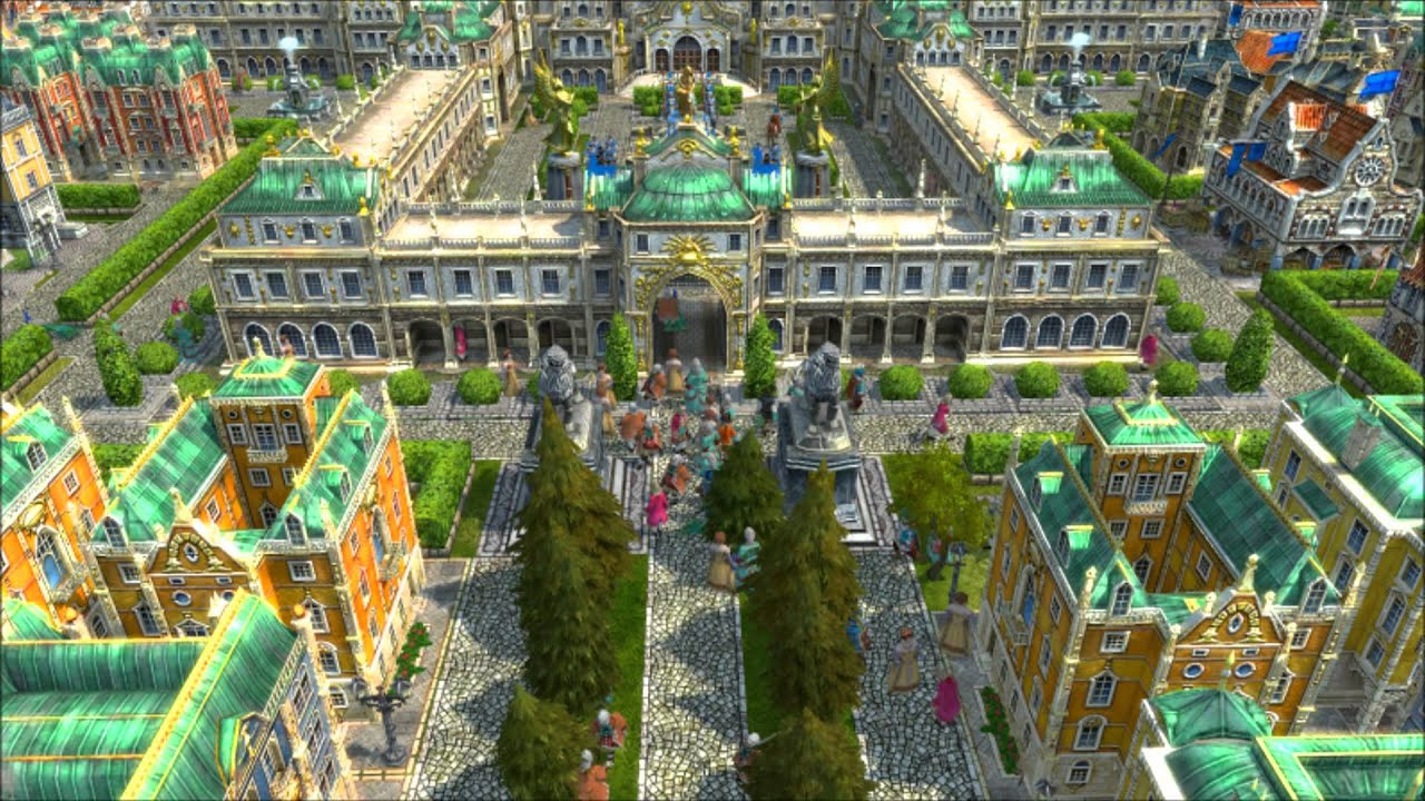 Anno 1701 stadt der k nige youtube for Anno 2070 find architect